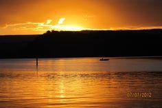 sunset lake conjola 2012