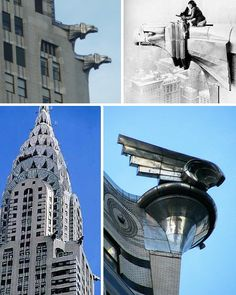 Chrysler Building Gargoyles- 2 of my fav things together!!