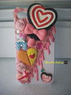 Sweet Deco iPhone 4 case Special Edition for Valentine's Day