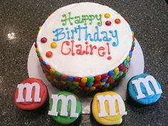 sugar E designs: M & M Birthday Party