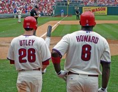 Chase Utley & Ryan Howard