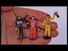 Fábrica de Pilotos: Ayrton Senna - Figuras em escala 1/43