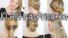 10 ALLTAGSFRISUREN | in 5-10 Minuten | Schule | Uni | Job - YouTube