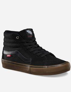 Vans - Sk8-Hi Pro Schuh black gum