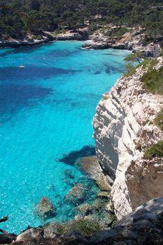 "* Ilha Menorca *  Espanha. ""Cala Mitjana""."