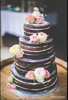 Brownie cake- in place of traditional  cake