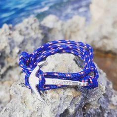 Bracelet ancre sur laboutiquedubracelet.com #laboutiquedubracelet #bracelet #ancre #mer #braceletancre #marin