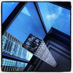 What an interesting perspective shot at the Fairmont Waterfront by Niki Inglis