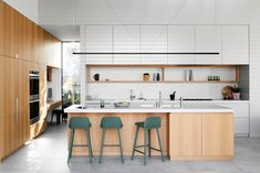Browse the line-up of creative kitchens and dining rooms that made it into Australian House & Garden's 19th annual Top 50 Rooms competition.