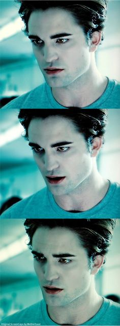 """It's very hard to read you.""  Edward"