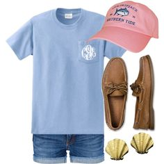"""""""Southern Tide"""" by qtpiekelso on Polyvore"""