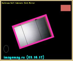 Bathroom Wall Cabinets With Mirror 200347 - The Best Image Search