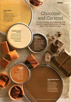 Chocolate and Caramel Decorating Scheme | AllTogetherChanin
