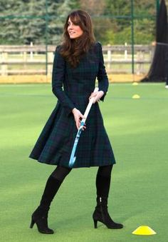 "December 02, 2012: Duchess Catherine ""Kate"" of Cambridge, visiting St Andrews Elementary School in St Andrews, Scotland."