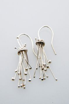 tentacle earrings, by emily gill, $75