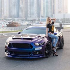 trendy sexy cars for women ford mustangs Lamborghini, Ferrari, Audi, Porsche, Up Auto, Car Poses, Toyota, Mustang Girl, Ford Mustangs