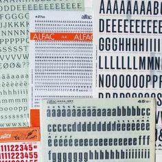 Un lot de 5 feuilles de lettres de transfert Alfac et Decadry (vintages, années 70 et 80) .  Il s'agit ici de lots d'occasion tous différents. Possibilité d'avoir un lot personnalisé (voir ci-dessous).  Ces décalcomanies s'appliquent aussi bien sur support plastique que sur papiers,cartons,...  Idéales pour la customisation,le relooking et le scrapbooking, elles évitent l'utilisation du pochoir! 9,90 € http://www.lafolleadresse.com/accessoires/482-5-planches-de-transfert-vintage.html