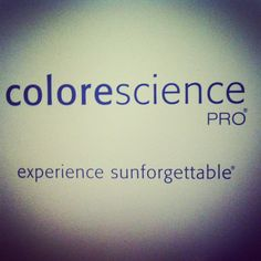 ColoreScience PRO Sunforgettable products
