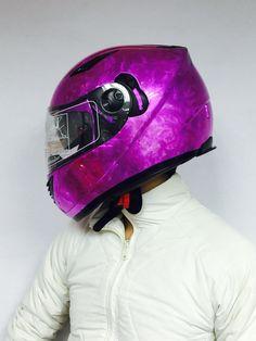 Masei 830 Purple Ice Chrome DOT Arai Helmets