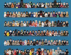 Minimal Movie Characters
