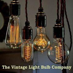 Vintage Edison Filament Light Bulbs   eBay