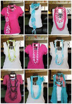 T-Shirt Scarves: more ideas