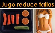 Zumo para reducir tallas de maner saludable, ¡apunta la receta!