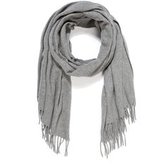 Acne Studios Canada Cashmere Scarf (6,960 MXN) ❤ liked on Polyvore featuring accessories, scarves, cashmere scarves, fringe scarves, oblong scarves, fringe shawl and long shawl