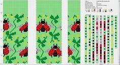 Wayuu Mochila pattern ladybug
