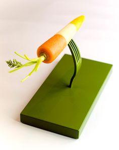 La carotte « En tiers » - Galerie Fraich'Attitude, Paris 2007  | Stéphane Bureaux  http://www.stephane-design.com/