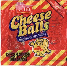 1997 Eta Cheese Balls Snacks Packet - New Zealand (NZCollector) Tags: new zealand packaging snacks bluebird eta kiwiana chippies