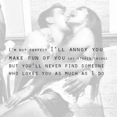 I love my love!