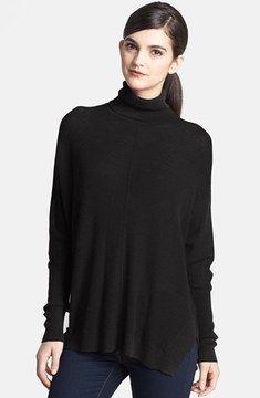 Trouve Trouvé Turtleneck Drape Sweater on shopstyle.com