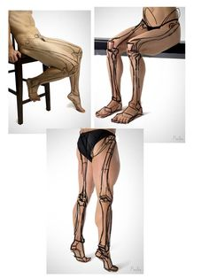 Leg Anatomy, Human Body Anatomy, Anatomy Poses, Anatomy Drawing, Hand Drawing Reference, Anatomy Reference, Comic Frame, Drawing School, Body Sketches