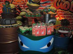 Criancices Festas e Eventos | Decoração Festas Infantis Recife | Tartarugas Ninjas