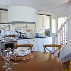 kitchen diner mirrored splashback country decorating ideas kitchen splashbacks kitchen design ideas housetohome uk