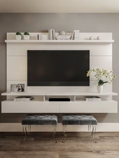 Living Room Tv Unit, Home Living Room, Snug Room, House Beds, Living Room Wall Units, Modern Tv Room, Living Room Tv Wall, Lounge Design, Living Room Designs