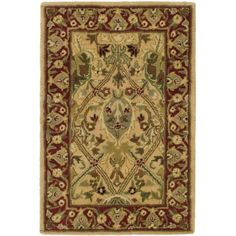 Persian Legend Ivory/Rust (Ivory/Red) 2 ft. x 3 ft. Area Rug
