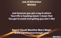Understanding the Law of Attraction   MMM - Manifest More Magic