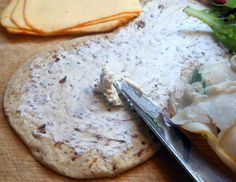 Garlic & Herb Cream Cheese Recipe- great for leftover turkey sandwiches!