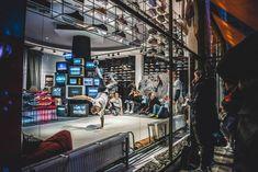 P-U-R-A designs hybrid sneaker showroom for footshop in prague