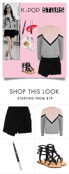 """""""K-POP Contest"""" by niniko-cosmetics ❤ liked on Polyvore featuring Ermanno Scervino, Être Cécile, Mystique and kpop"""
