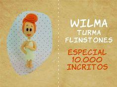 Wilma Flintstone air dry clay / polymer clay tutorial