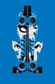 Martin Brundle, Ligier JS39-Renault, 1993 Japanese Grand Prix, Hugo Pratt livery Art Print by Ricardo Santos