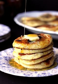 Cornmeal  Greek Yoghurt Pancakes   The Sugar Hit!
