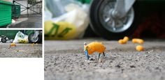 Slinkachu.com - Little People - a selection of street installations