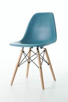 DSR of DSW designstoel donker zeeblauw