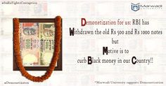 Demonetisation in the country is to curb the black money and corruption.  Marwadi University supports this initiative and moving forward with the mission of spreading awareness of E-Wallet.  Use digital wallet for your transactions.  Our students are stepping down to educate people about online transactions.  Meet us at 5 PM tomorrow at Crystal Mall Rajkot.  Let's support the initiative.  #MarwadiUniversity #Demonetisation #CSRActivity #StudentsSupport #DigitalWorld