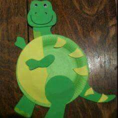 Paper plate dinosaur craft idea for kids & Preschool Crafts for Kids*: Paper Plate Stegosaurus Dinosaur Craft ...