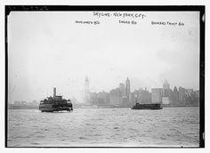 Skyline: Woolworth Bldg., Singer Bldg., Bankers Trust Bldg.   WWW.VIELSKERNEWYORK.DK - Danmarks bedste rejser til New York